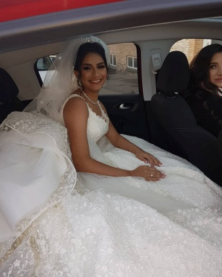Fancy wedding dresses princess | Buy lace wedding dresses cheap_2