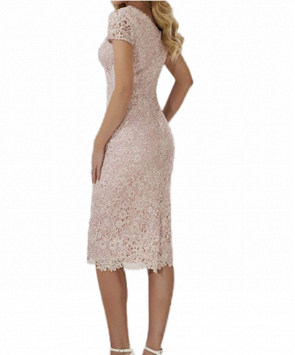 Evening dresses long with lace | Simple evening dress short_2