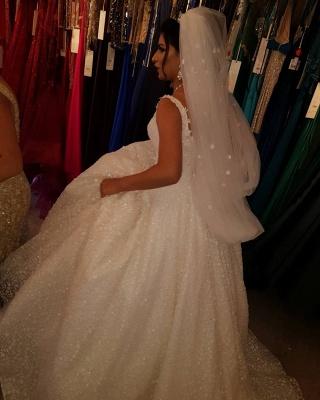 Fancy wedding dresses princess | Buy lace wedding dresses cheap_3
