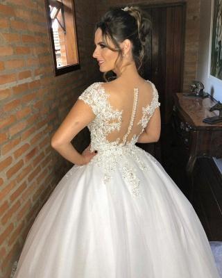 Fashion wedding dresses princess | Wedding dresses with lace_3