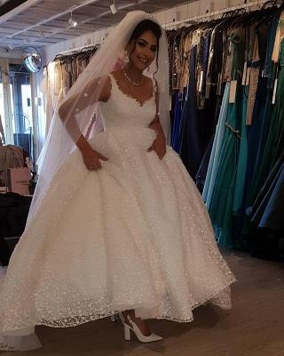 Fancy wedding dresses princess | Buy lace wedding dresses cheap_5