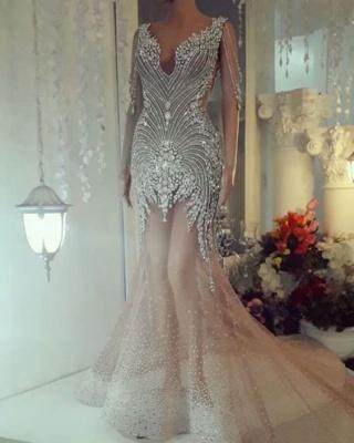 Luxus Abendkleider Lang | Kristal Abiballkleider Online Kaufen_1