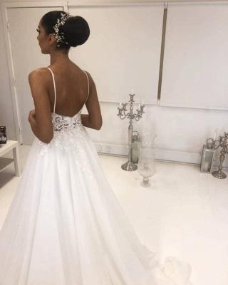 Designer Hochzeitskleider Weiß | Brautkleider Mit Spitze Online_2