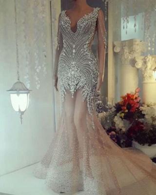 Luxus Abendkleider Lang | Kristal Abiballkleider Online Kaufen_2