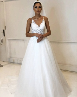 Designer Hochzeitskleider Weiß | Brautkleider Mit Spitze Online_1
