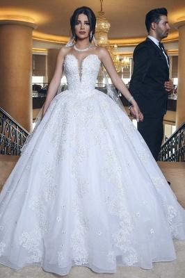 Designer Hochzeitskleider Weiß | Brautkleider Prinzessin Online_1