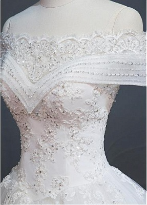 New Wedding Dresses White With Lace A Line Wedding Dress Cheap Online_3