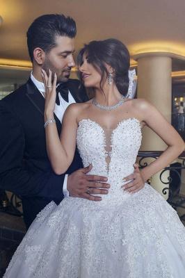 Designer Hochzeitskleider Weiß | Brautkleider Prinzessin Online_2