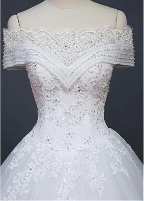New Wedding Dresses White With Lace A Line Wedding Dress Cheap Online_5