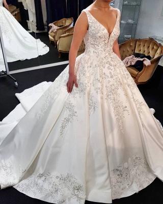 Billige Brautkleider Online | Elegante Hochzeitskleider Prinzessin_1