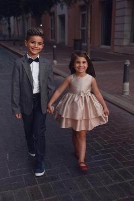 Süß Blumenmädchenkleider Kurz | Kinder Hochzeitskleider Günstig Online_5