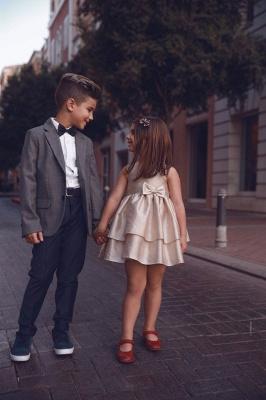 Süß Blumenmädchenkleider Kurz | Kinder Hochzeitskleider Günstig Online_2