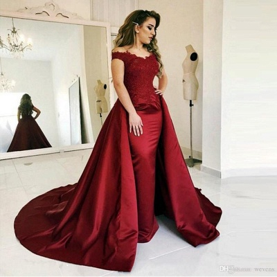 Burgundy Evening Dresses Long Cheap | Prom dresses online_3
