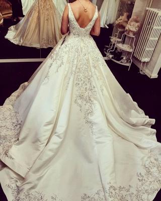 Billige Brautkleider Online | Elegante Hochzeitskleider Prinzessin_2
