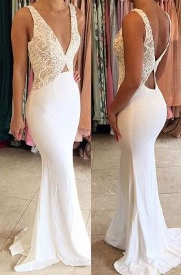 Elegant evening dresses long cheap online lace sheath dresses prom dresses_1