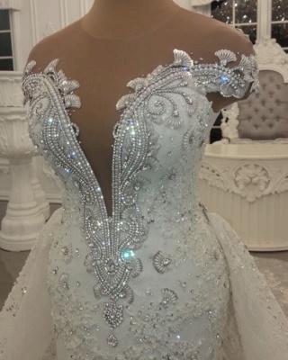 Luxus Brautkleider A Linie | Hochzeitskleider online Kaufen_2