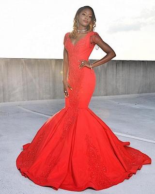 Luxus Rote Abendkleider Lang | Abiballkleider Bodenlang ...