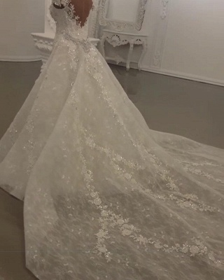 Luxus Brautkleider A Linie | Hochzeitskleider online Kaufen_3