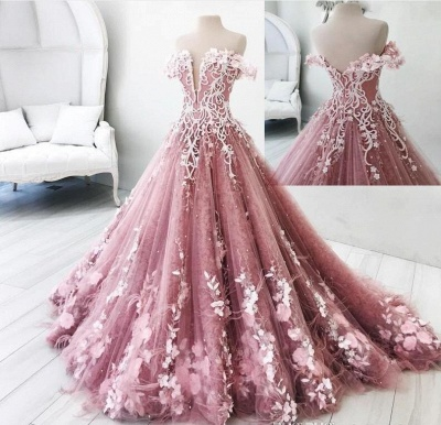 Modern Pink Evening Dresses Princess Feathers Evening Fashions Prom Dresses Cheap_2