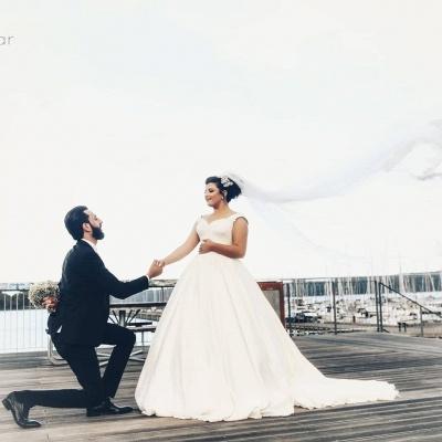 Elegante Hochzeitskleider für Schwangere | Brautkleider Große Größen_2