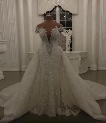 Luxus Brautkleider A Linie | Hochzeitskleider online Kaufen_1