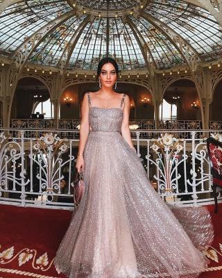Elegante Abendkleider Lang Günstig Pailletten Etuikleider Abendmdoen Online_5