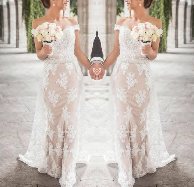 Elegante Abendkleider Lang Weiß | Abiballkleider Abendkleid Spitze Günstig_2