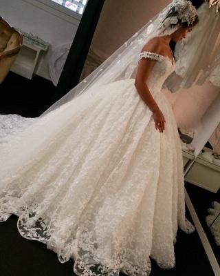 Fashion Spitze Brautkleider Online | Prinzessin Hochzeitskleider Günstig_1
