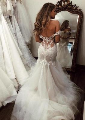 Modern Brautkleid Meerjungfrau Günstig | Hochzeitskleider Mit Spitze_2