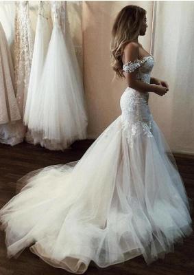 Modern Brautkleid Meerjungfrau Günstig | Hochzeitskleider Mit Spitze_3
