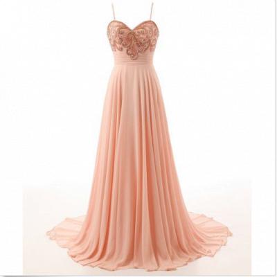 Elegant Evening Dresses Online Cheap | Chiffon dresses long summer_2