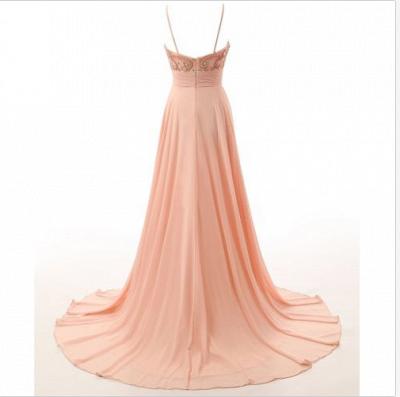 Elegant Evening Dresses Online Cheap | Chiffon dresses long summer_3