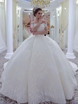 Luxury wedding dresses princess | Lace Wedding Dresses Online_1