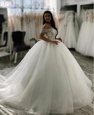 Luxus Hochzeitskleider Prinzessin | Brautkleider Tüll Günstig_2