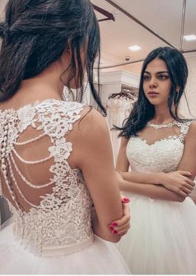 Designer Brautkleider mit Spitze | Prinzessin Hochzeitskleider Online_1