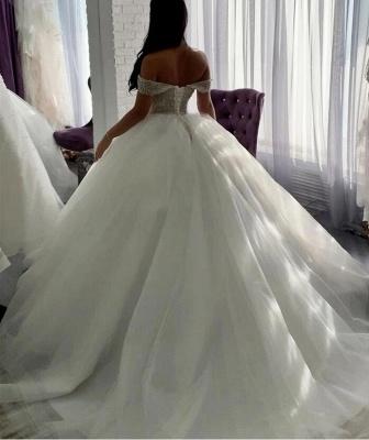 Luxus Hochzeitskleider Prinzessin | Brautkleider Tüll Günstig_3