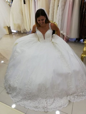 Cheap wedding dresses princess | Wedding dresses with lace online_2