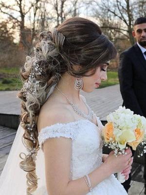 Fashion Hochzeitskleider Prinzessin | Spitze Brautkleider Online_3