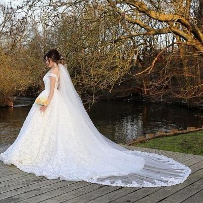 Fashion Hochzeitskleider Prinzessin | Spitze Brautkleider Online_2