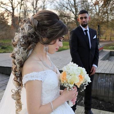 Fashion Hochzeitskleider Prinzessin | Spitze Brautkleider Online_1