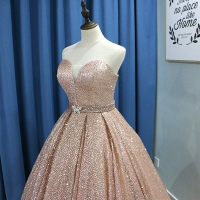 Fashion evening dresses with glitter | Buy princess evening wear online_4