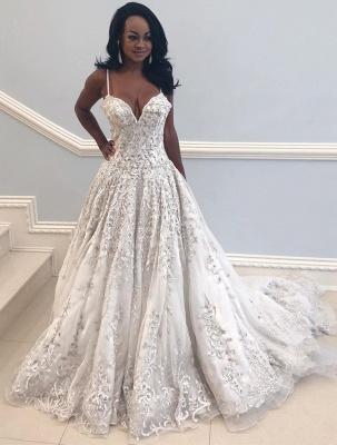 Vintage Brautkleid A Linie Spitze | Hochzeitskleider Luxus Online