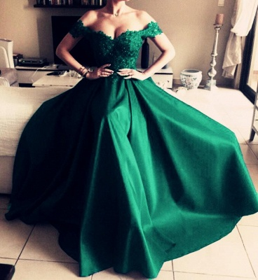 Elegant evening dresses long green | Black Evening Wear Red Online_4