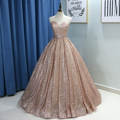 Fashion evening dresses with glitter | Buy princess evening wear online_2