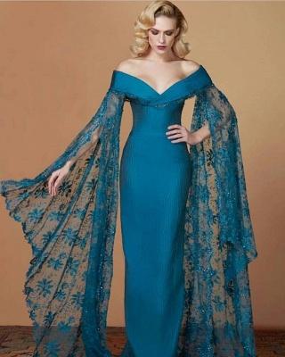 Fashion Türkische Abendkleider Lang | Abendkleider Mit Ärmel_1