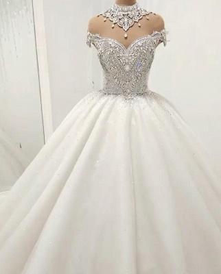 Elegante Hochzeitskleider Mit Spitze | Brautkleid Luxus Online_1