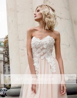 Fashion Rosa Abendkleider Lang Günstig Mit spitze Abenmoden Abiballkleider_2