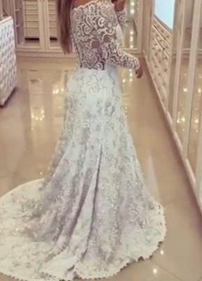 Lace wedding dresses white mermaid style tugs wedding fashions bridal fashions_2