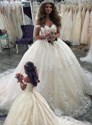 Cheap flower girl dresses lace | Children's wedding dresses online_1