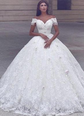 Weiße Brautkleider A Linie Schluterfrei Prinzessin Brautmoden Hochzeitskleider_1